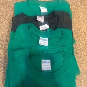 Lot of 7 youth t shirts, new
